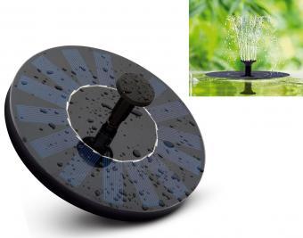 Úszó napelemes szökőkút  M1226 Solar