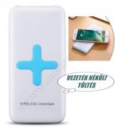 Külső mobil akkumulátor vezeték nélküli töltő 0886-1