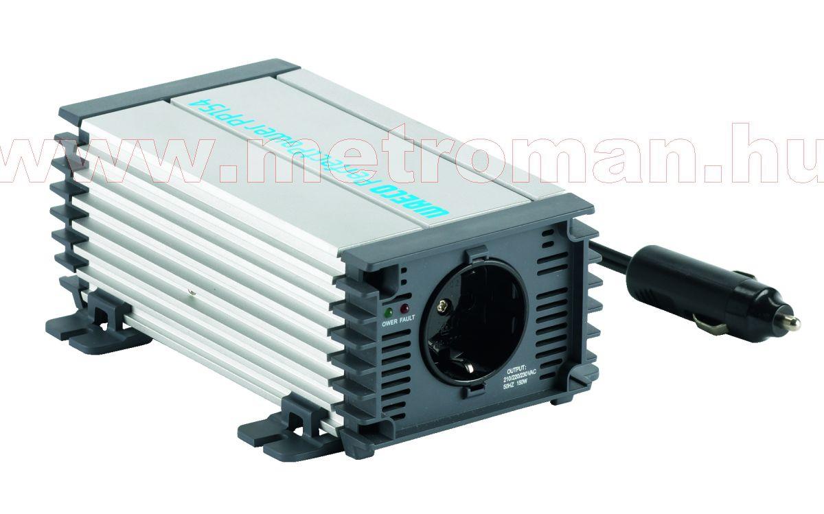Feszültségátalakító , inverter  , 150 W , Waeco PP152 , 12/230 Volt