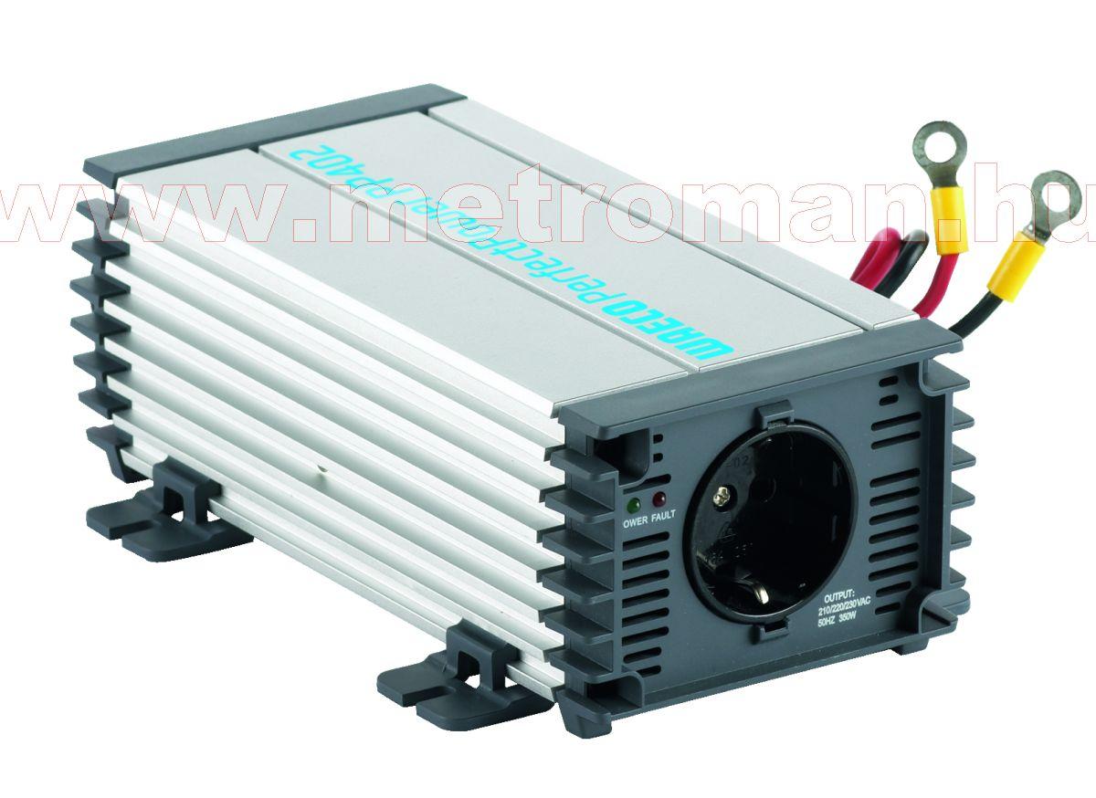 Feszültségátalakító , inverter  , 350 W , Waeco PP402  , 12/230 Volt