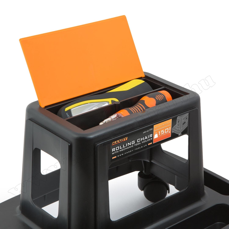 Guruló szerszámtároló szék HANDY 10998