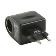 Tápegység , hálózati adapter szivargyújtó csatlakozással , 12 V 400 mA , P.SUP.SC5