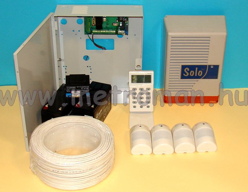 Riasztó rendszer Micron Z4120C+LCD kommunikátor