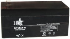 Zselés akkumulátor , 12 V - 3,2 Ah BAT-LEAD-06
