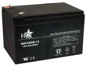Zselés akkumulátor , 12 V - 12 Ah , BAT-LEAD-13