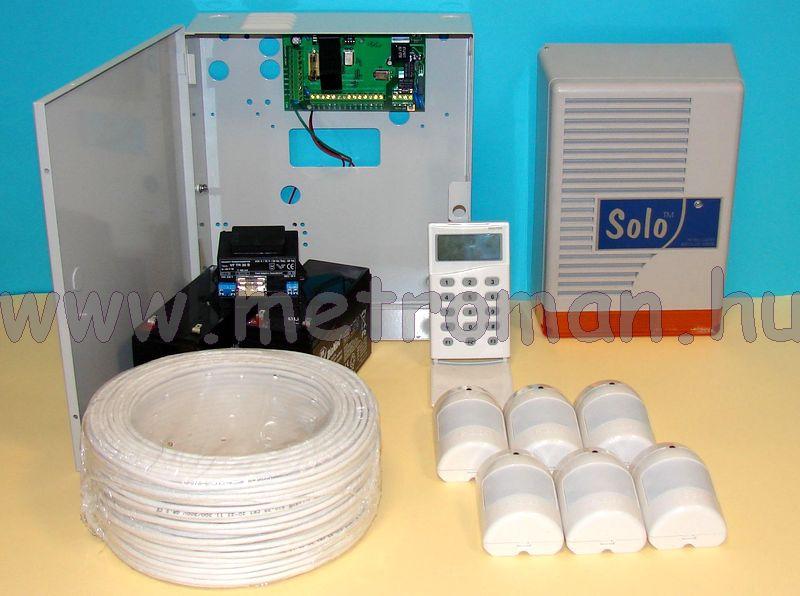 Riasztó rendszer Micron Z6020C+LCD kommunikátor