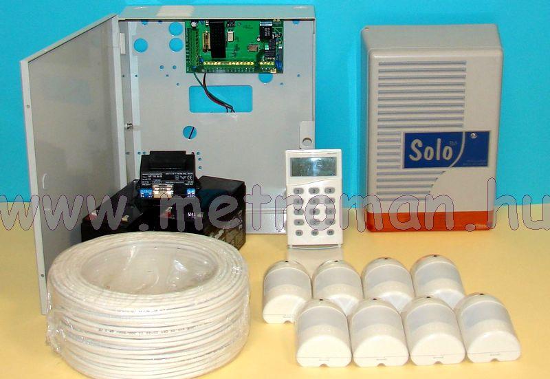 Riasztó rendszer Micron Z8020C+LCD kommunikátor