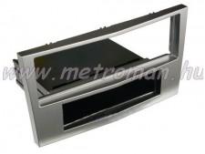 Autórádió beépítőkeret OPEL Astra H, sötét ezüst