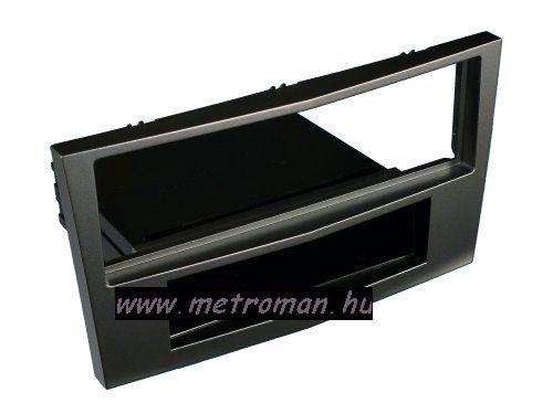 Autórádió beépítőkeret OPEL Astra H, sötét szürke