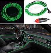 Autós 12V LED dekor szalag Zöld MM-7962GL
