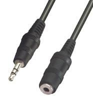 Fejhallgató hosszabbító  3,5 mm jack hosszabbító 5 m VLAP22050B50