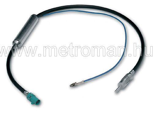 Antenna átalakító adapter Fakra - DIN ( fantom táp )