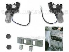 Elektromos ablakemelő készlet , Skoda Fabia I. , autóspecifikus kapcsolószettel