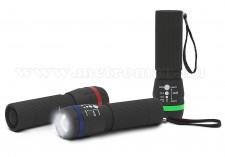 Zoom LED kézi elemlámpa, MM-18604