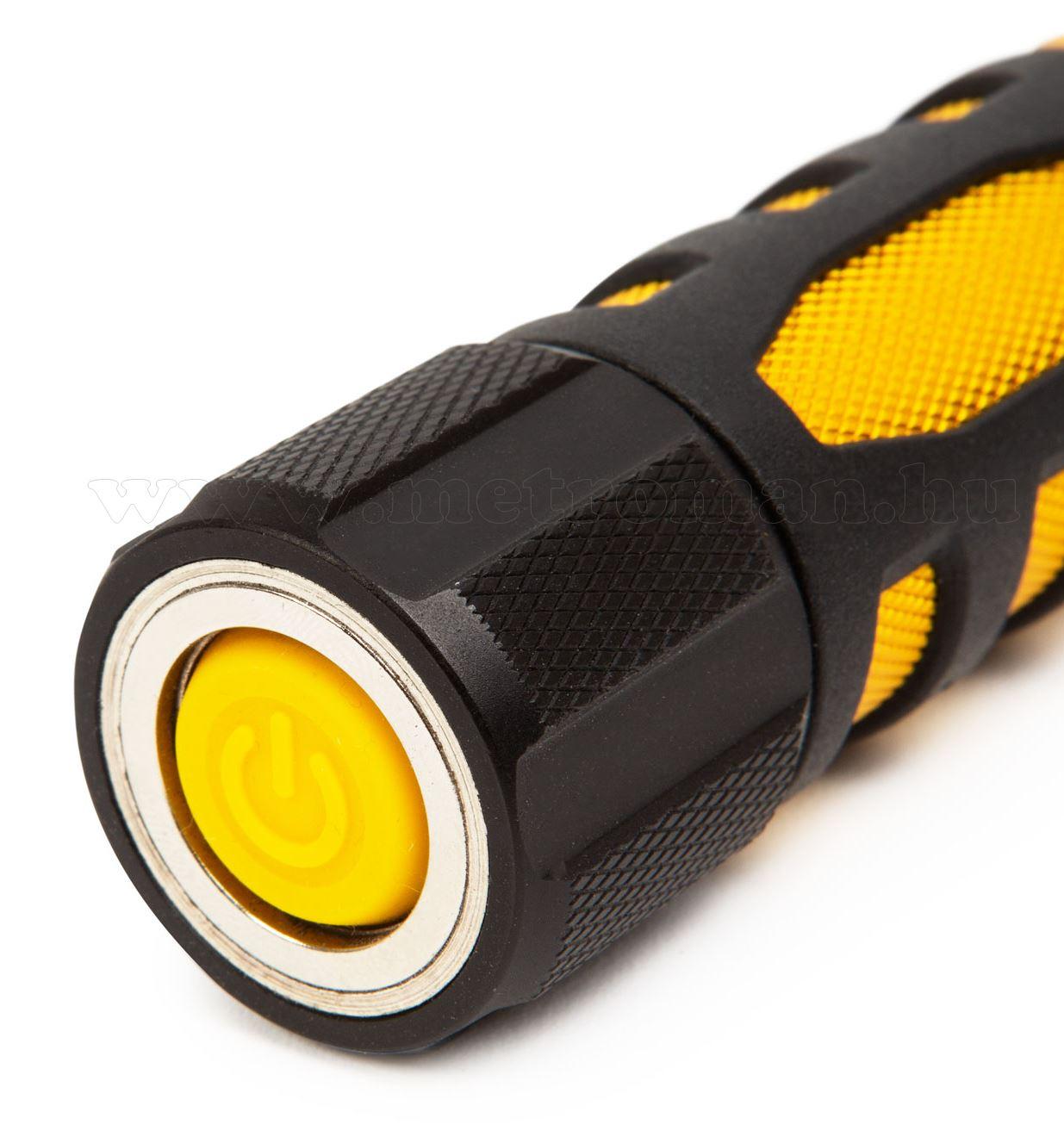 Zseblámpa COB LED munkalámpa funkcióval 18613