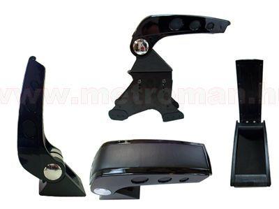 Autós könyöklő, univerzális  kartámasz, 48006AB  Fekete