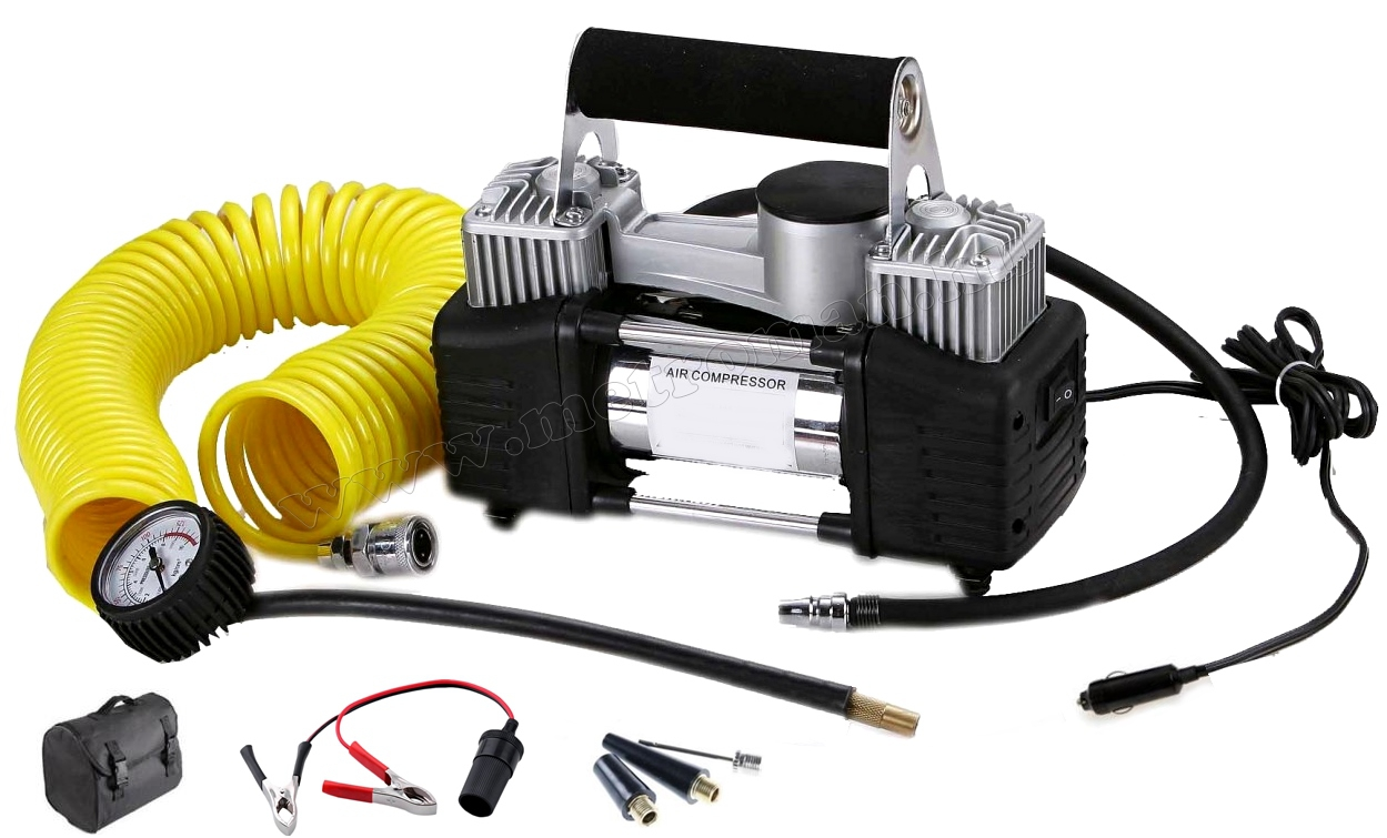 Kéthengeres Autós kompresszor, autópumpa M4061