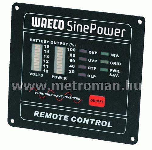Vezetékes távkapcsoló Waeco SP inverterekhez,MCR-7