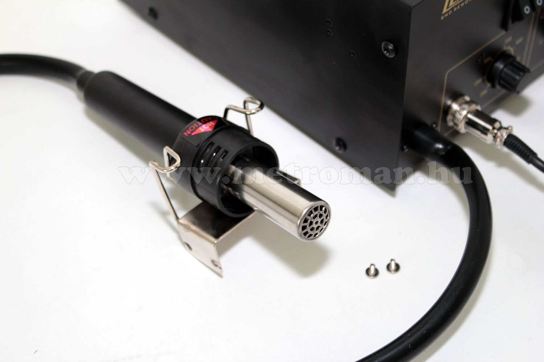 2 funkciós forrasztó állomás forró levegős és normál forrasztó pákával, LX HY908