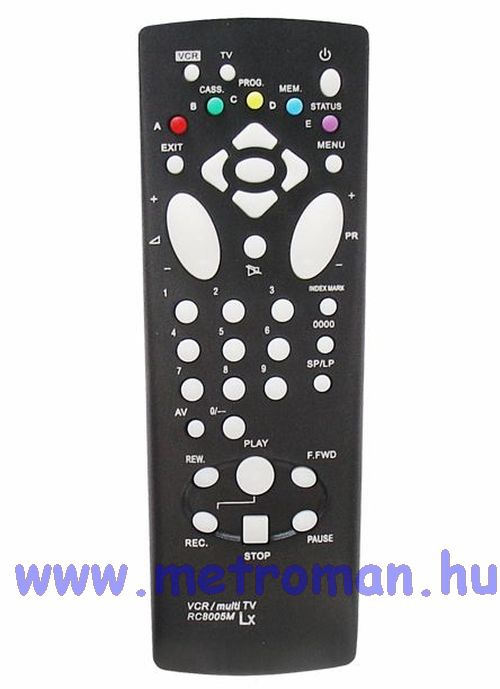 Utángyártott TV / VIDEO távkapcsoló, Thomson RCT8005M
