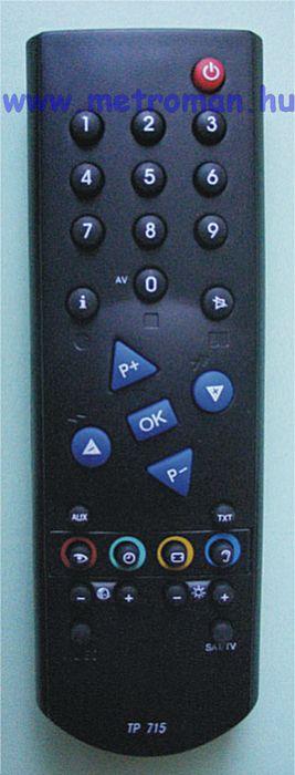 Utángyártott TV távirányító, Grundig TP 715