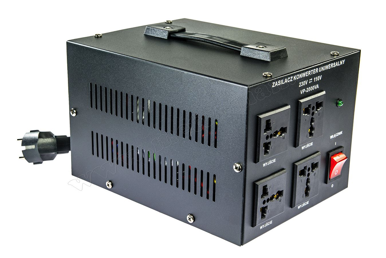 Feszültség átalakító konverter 230V/110V 2000W , KN2000 SoftStart
