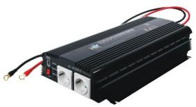 Feszültségátalakító , inverter  , 1700 W  HQ-INV1700  ,  12 / 230 Volt