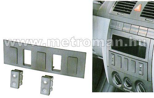 Kapcsolókészlet elektromos ablakemelőhöz, SKODA FABIA