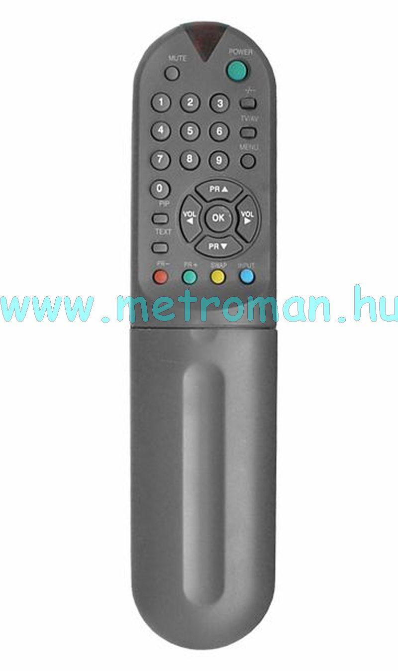 Utángyártott TV / Video távirányító, Goldstar 105-224P