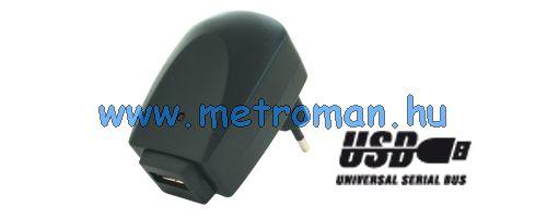 USB töltő, hálózati adapter SA 1000USB