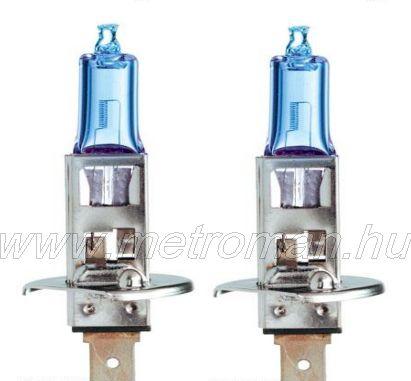 Halogén fényszóró izzó H1 GE Sportlight +50% 12V 55W P14,5s 50310NHSU