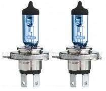 Halogén autó fényszóró izzó H4 GE Sportlight +50% 12V 60/55W P43t 53800NHSU