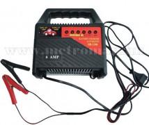 Akkutöltő ProUser HB1206  , 6 Amper , 12 V
