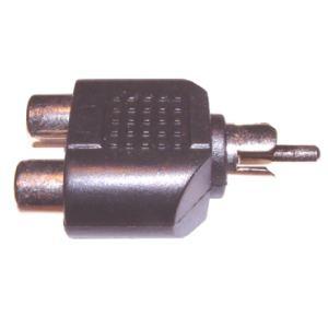RCA - 2RCA elsosztó adapter, csatlakozó AC 18