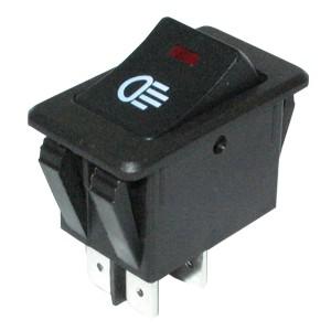 Autós ködlámpa kapcsoló, 2 áramkörös LX PS17