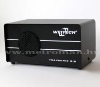 Professzionális elektromos ultrahangos patkány, nyest, egér, bolha, pók riasztó, Weitech WK 0600