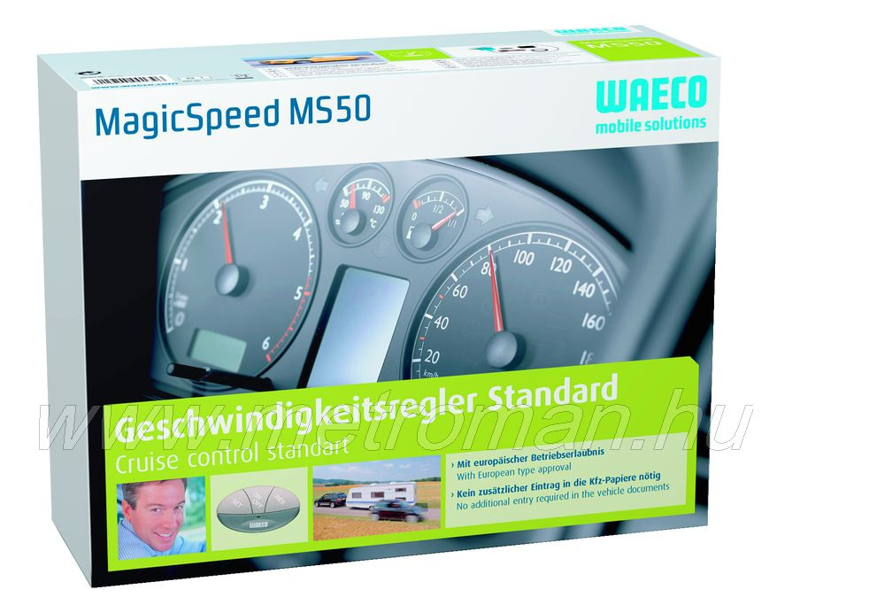 Waeco Magic MS-50 vákumos tempomat