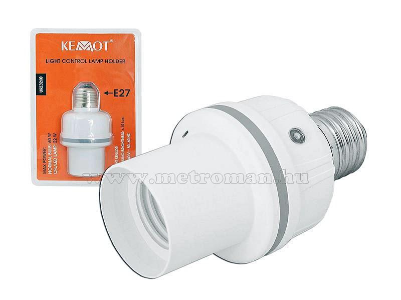 Alkonykapcsolós E27 lámpa foglalat 3260