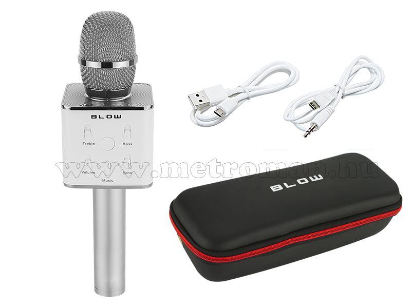 Vezeték nélküli Bluetooth karaoke hangszóró és mikrofon PRM401