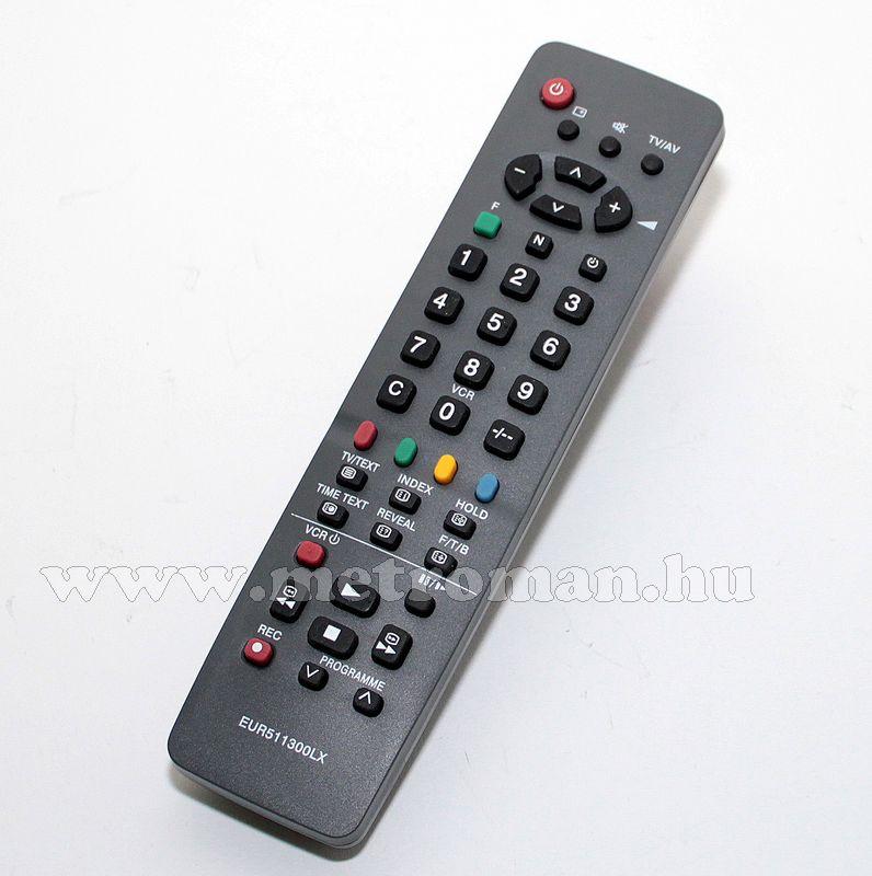 Utángyártott TV távirányító, Panasonic, EUR511300