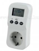 Digitális fogyasztásmérő műszer EL-EPM02HQ