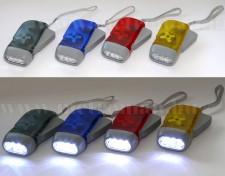 LED dinamós lámpa, HQ TORCH-L-BOX01