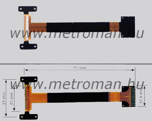 Szalag kábel autórádióhoz Pioneer CNP 6869,  14070