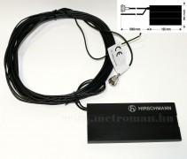 Hirschmann AUTA 1 analóg és DVB-T autós TV antenna, szélvédőre ragasztható