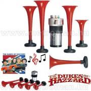 Dixi Horn , 5 szólamú kompresszoros dallamkürt , The Dukkes of Hazzard