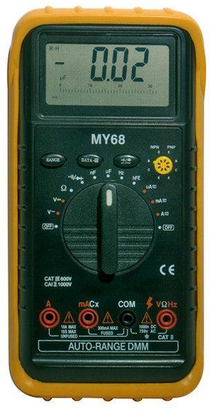 Professzionális digitális multiméter, MY-68