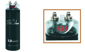Autóhifi kondenzátor, 1 Farad, SA 030