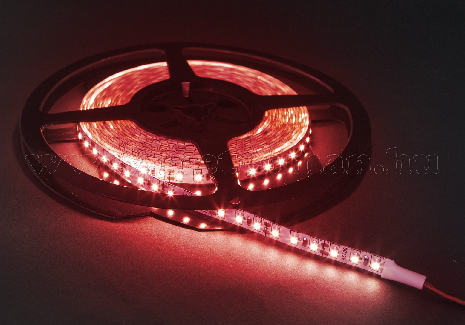 LED szalag, piros, 5 m 41007R