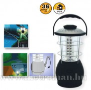 LED kempinglámpa, dinamós , 36 LED-del, CL 36L