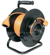 230 V-os hosszabbító kábel, 27+3 m-es vezetékkel, kábeldobbal HRJ 24-30
